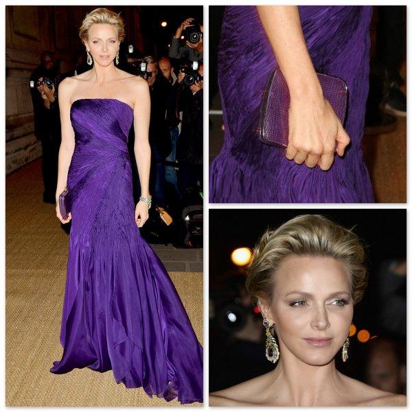 Princess Charlene of Monaco - Accessoires _ Suite
