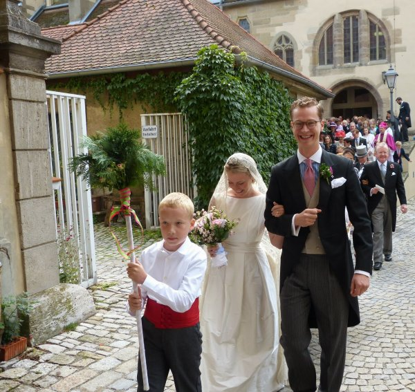 Royal Wedding Dress 2013 - Countess Dorothea zu Castell-Castell
