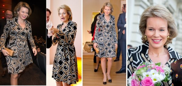 The Style Dress - Queen Mathilde of Belgium _ Suite
