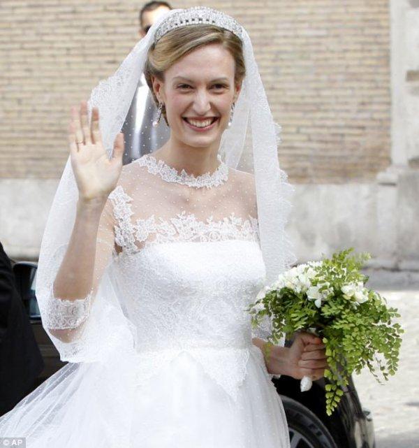 Royal Wedding Dress 2014 - Elisabetta (Lili) Maria Rosboch von Wolkenstein