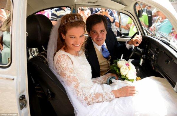 Royal Wedding Dress 2014 - Theresa von Einsiedel