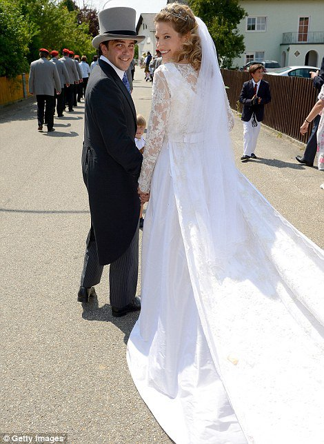 Royal Wedding Dress 2014 - Theresa von Einsiedel