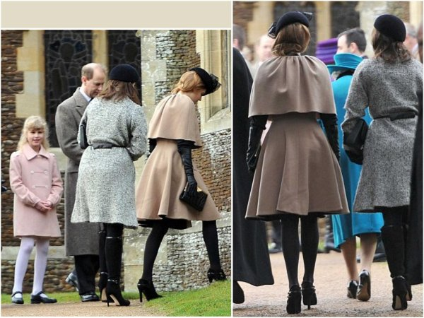The Style Dress - Béatrice & Eugénie of  York  _ Suite