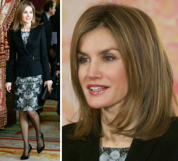 The Style dress - Crown Princess Letizia of Asturias _ Suite