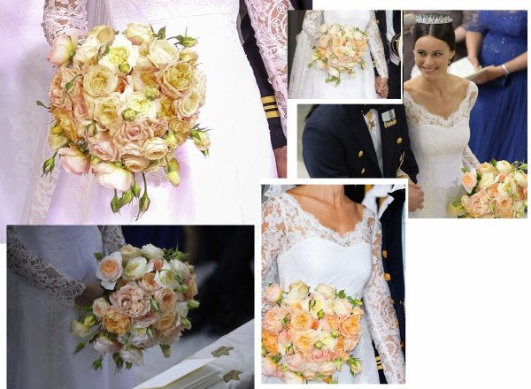 The Wedding Dress of Sofia Hellqvist - Princess Of Sofia of Sweden , Le 13 juin 2015 _ Suite