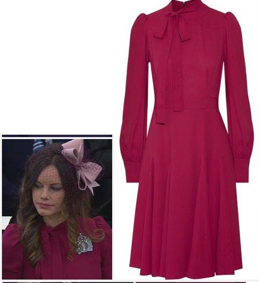 The Dress & Accessoires , Sofia  Princess of Sweden