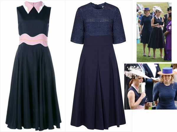 The Style Dress & Accessoires - Béatrice & Eugénie of York  _ Suite