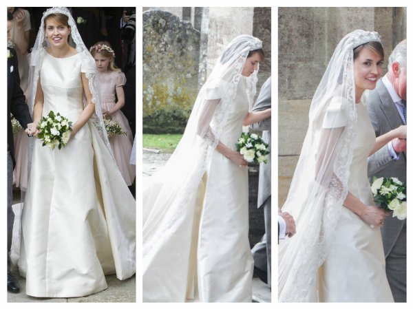 Lady Alexandra Knatchbull Wedding Dress 2016