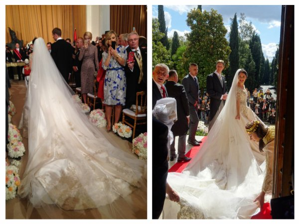 Elia of Albania Wedding Dress 2016