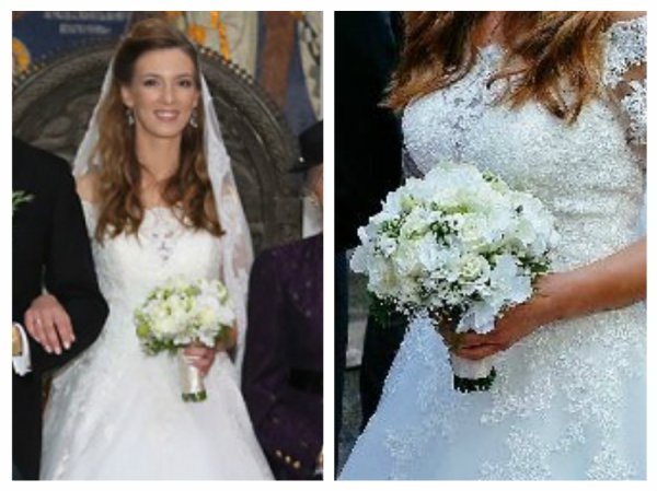Ljubica of Serbia Wedding Dress 2016