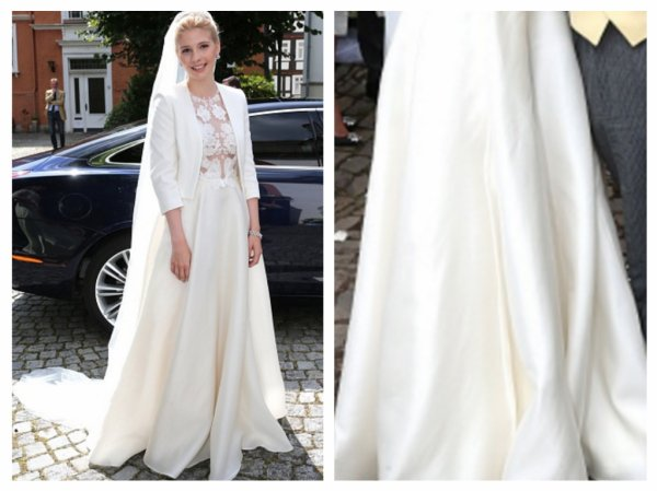 Franziska of Sayn-Wittgenstein-Berleburg Wedding Dress 2016