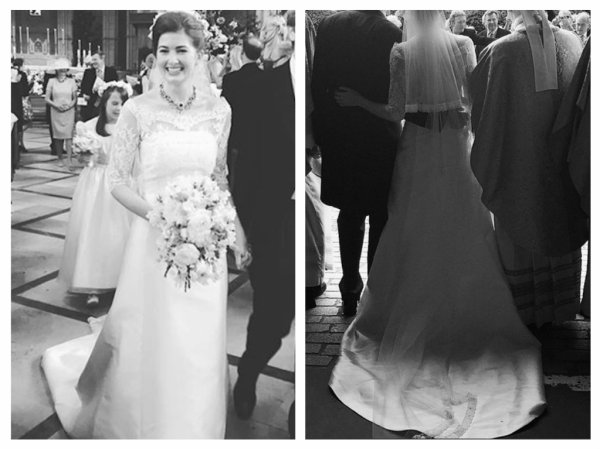 Cecilia of Arundel Wedding Dress 2016