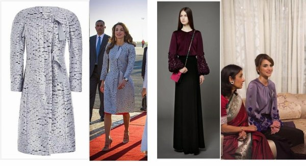 The Style Dress & Accessoires -  Queen Rania of Jordan