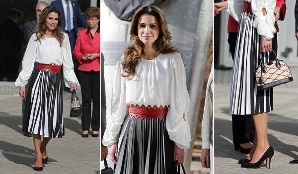 The Style Dress & Accessoires -  Queen Rania of Jordan