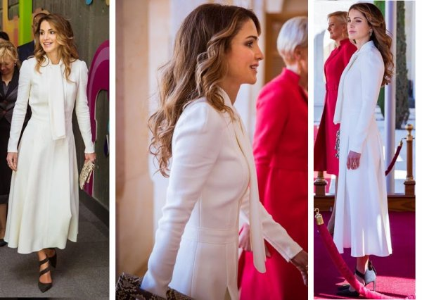 The Style Dress & Accessoires -  Queen Rania of Jordan _ Suite
