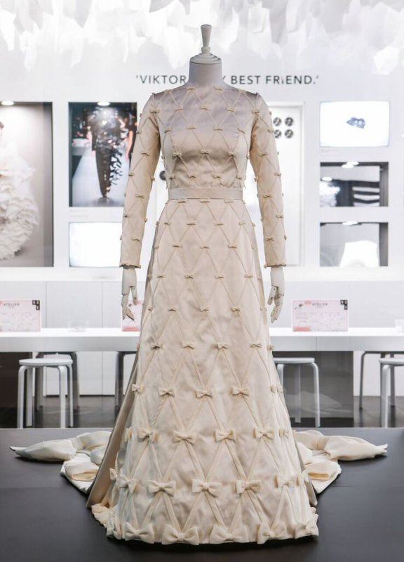 The Wedding Dress of Mabel of Netherlands Exhibition Australia
