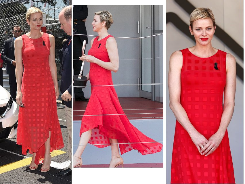 The Style Dress & Accessoires - Princess Charlene of Monaco _ Suite