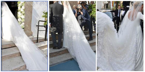 The Wedding Dress 2017 - Princess Marie-Gabrielle of Nassau