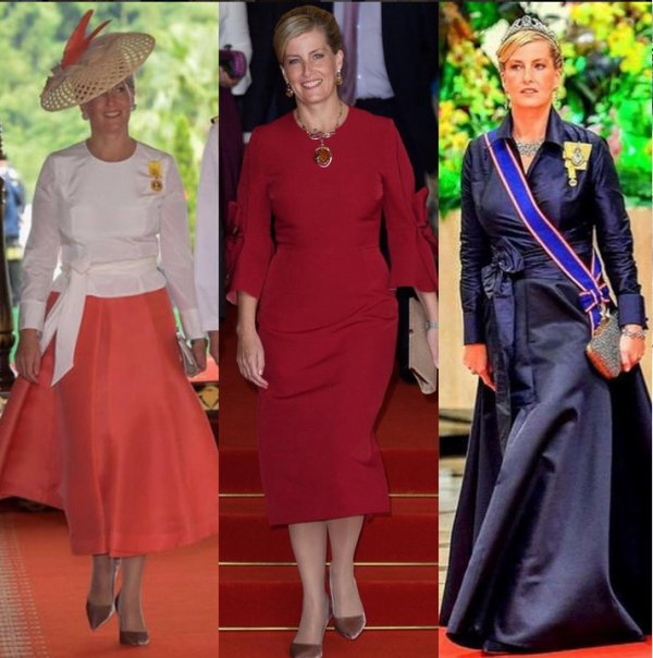 The Style Dress & Accessoires - Countess Sophie of Wessex _ Suite
