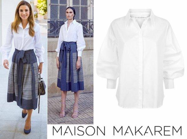 The Style Dress & Accessoires - Queen Rania of Jordan _ Suite