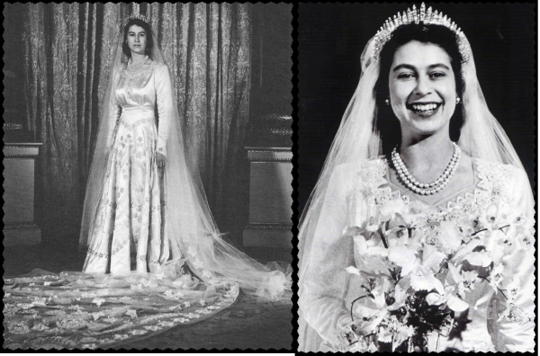 The 70e Royal Wedding Anniversaries Of Queen Elizabeth of England