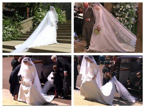 The Wedding Dress 2018 -  Meghan Markle , Duchess Of Sussex