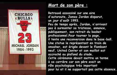 plus récent 98a6c 6ba3f Michael Jordan mort de son père - Michael Jordan
