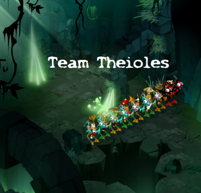 Team Theioles sur le serveur Rushu
