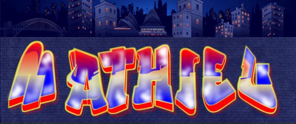 voila un graffitie