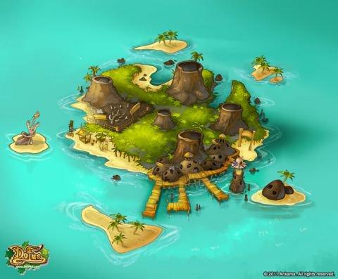 Les quêtes de l'île de Vulkania