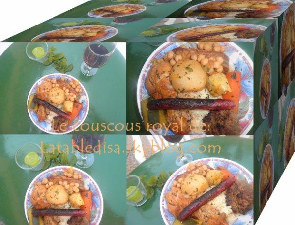 Le couscous royal : la recette