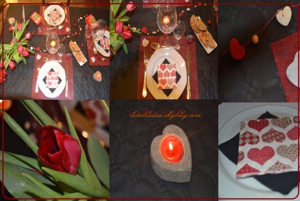 Saint Valentin : La déco