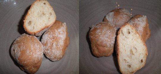 les petits pains ( recette du blog de ça popotte)