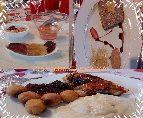 Jour de Noel 2015: le menu