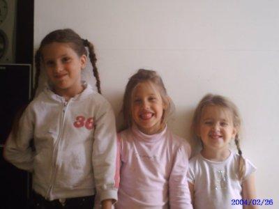 me 3 les filles ke aime