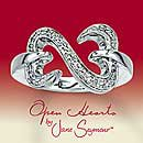 Open Hearts par Jane Seymour ® Diamond Ring