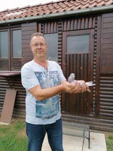 Bruno Waxin de Quievy (59) s'impose sur Chalon-sur-Saône VCDA Yearlings.