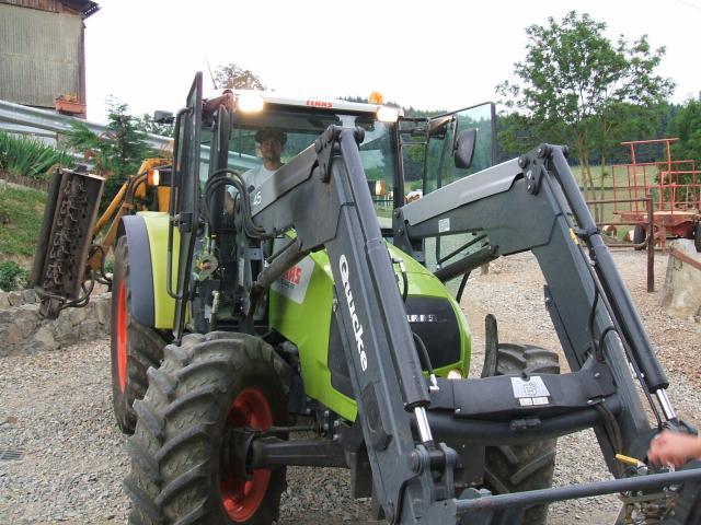 les tracteurs claas