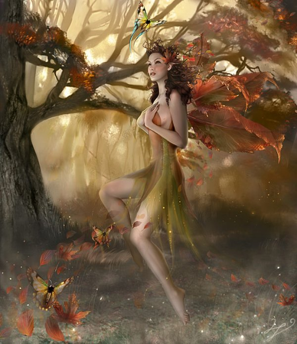 """ Autumn Wisperling "" ..."