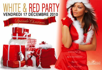 ❊ White & Red Party SPÉCIAL NOËL ❊