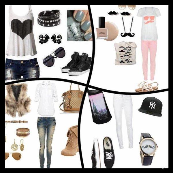 Quel Style prefere-tu? =)