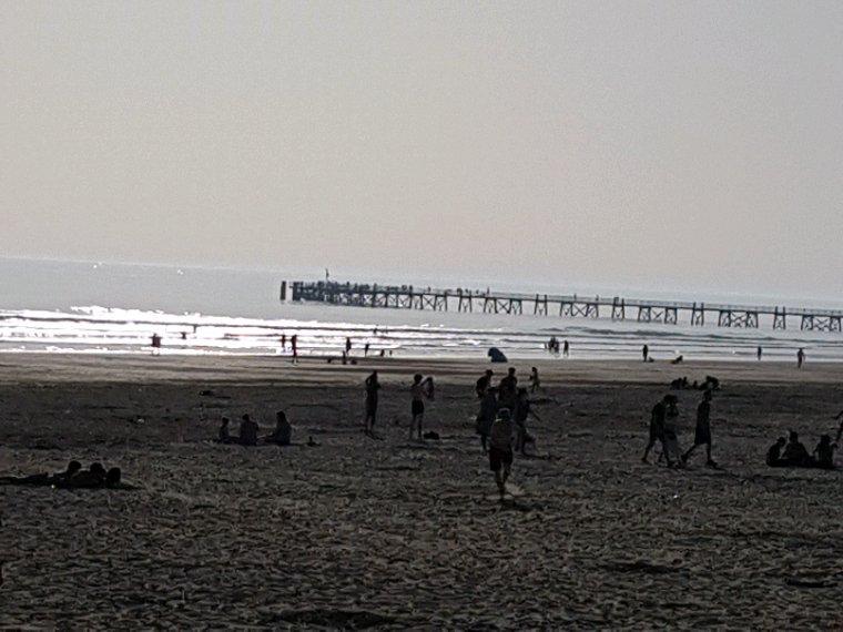 Journée et soirée à la plage saint Jean de monts