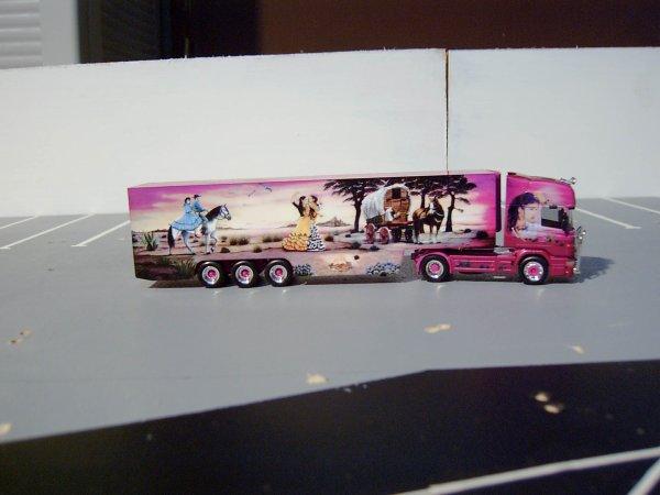 mes camions que j'ai eu a noël