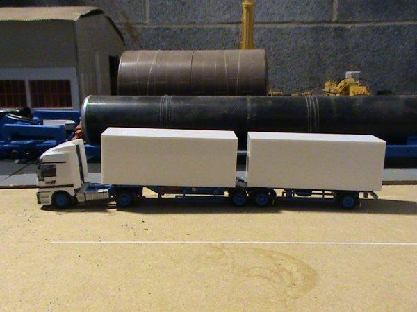 camion bi-train