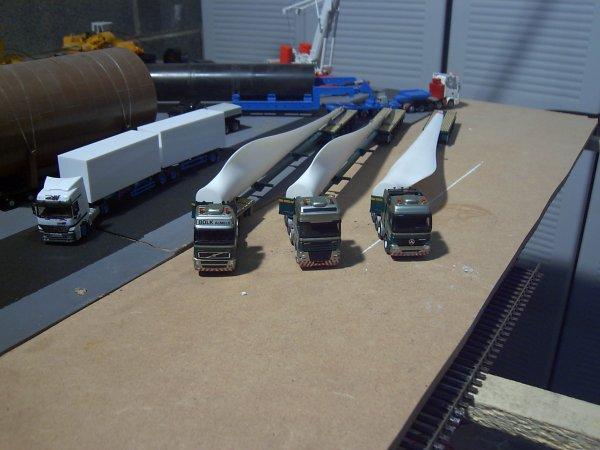 3 convoi bolk portes pales d'éoliennes