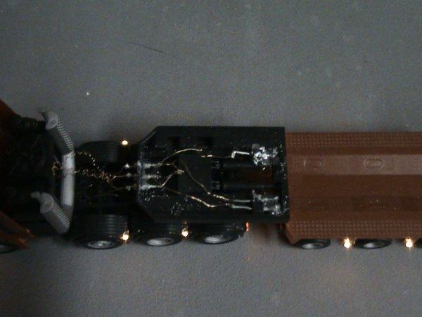convoi exceptionnel alimenter par un accu 9 volt