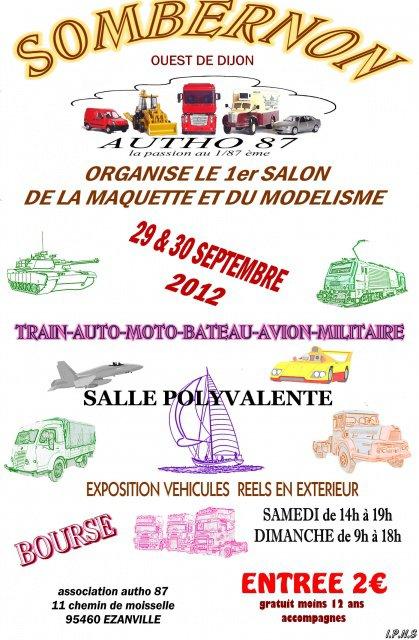 expo a sombernon ( dijon ouest) le 29et30 septembre2012