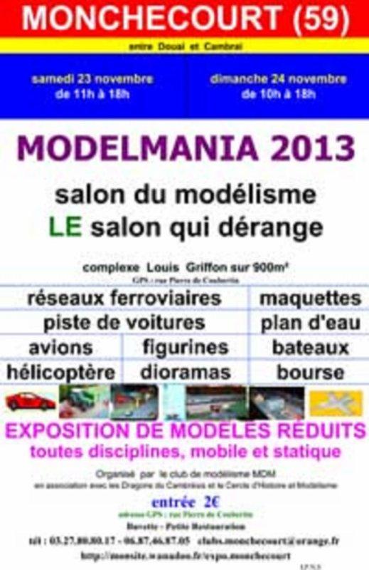 expo a monchecourt le 23 et 24 novembre 2013
