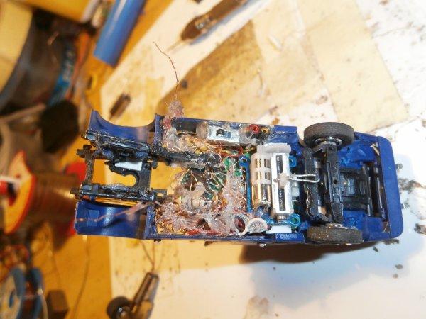 tracteur torpedo remplacement du moteur