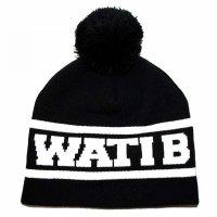 Bonnet Pompon Wati B Noir